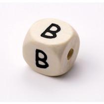 Schnullerketten Buchstabenwürfel B