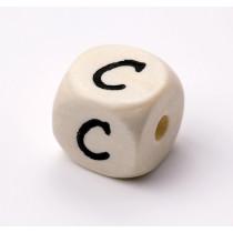 Schnullerketten Buchstabenwürfel C