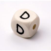 Schnullerketten Buchstabenwürfel D
