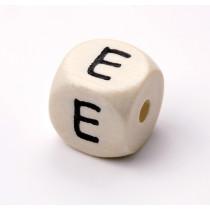 Schnullerketten Buchstabenwürfel E