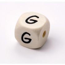 Schnullerketten Buchstabenwürfel G