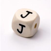 Schnullerketten Buchstabenwürfel J