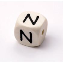 Schnullerketten Buchstabenwürfel N