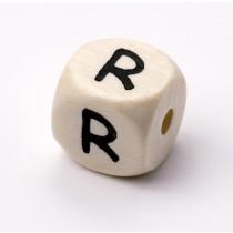 Schnullerketten Buchstabenwürfel R
