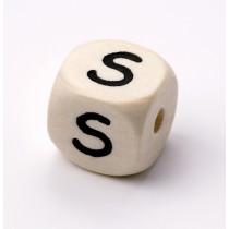 Schnullerketten Buchstabenwürfel S