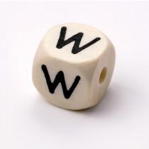 Schnullerketten Buchstabenwürfel W