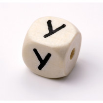 Schnullerketten Buchstabenwürfel Y