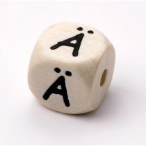 Schnullerketten Buchstabenwürfel Ä