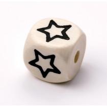 Schnullerketten Buchstabenwürfel Stern