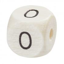 Schnullerketten Zahlenwürfel Null