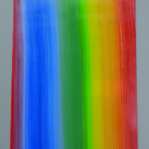 Wachsplatte Regenbogen