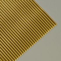 Wachsstreifen rund 200 x 3 mm 7 Stück gold glänzend