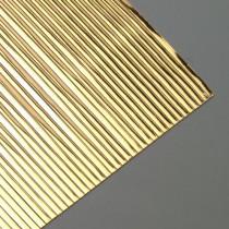 Wachsstreifen flach 200 x 1mm 30 Stück gold glänzend