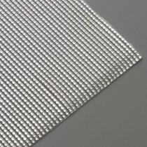 Wachsstreifen Perle 200 x 2 mm 7 Stück silber glänzend