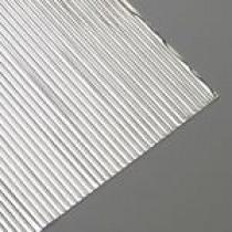 Wachsstreifen flach 200 x 1 mm 15 Stück silber glänzend