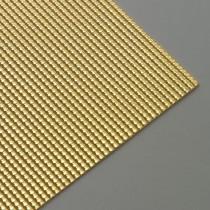Wachsstreifen Perle 200 x 2 mm 7 Stück gold glänzend