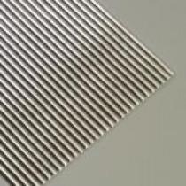 Wachsstreifen rund 200 x 2mm 10 Stück silber glänzend