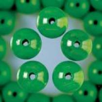 Holzperlen apfelgrün 10mm 53 Stück