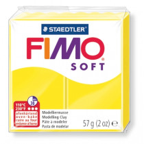 Modelliermasse FIMO® Soft limone 57g