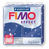Modeliermasse FIMO® Effect glitter blau 57g