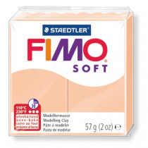 Modelliermasse FIMO® Soft haut hell 57g