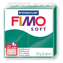 Modelliermasse FIMO® Soft smaragd 57g