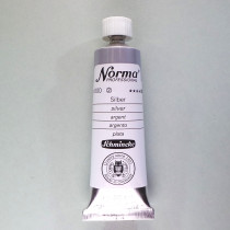 Ölfarbe Norma Silber 35ml