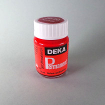 Stoffmalfarbe Karmin Deka-Permanent 25ml