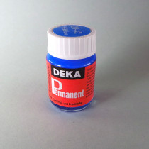 Stoffmalfarbe Hellblau Deka-Permanent 25ml