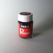 Stoffmalfarbe Dunkelbraun Deka-Permanent 25ml