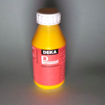 Stoffmalfarbe Goldgelb Deka-Permanent 125ml