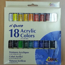 Acryl-Einsteiger Set 18 Acrylfarben
