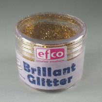 Brillant Glitter altgold