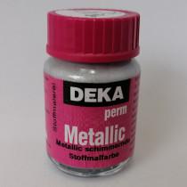 Stoffmalfarbe Deka PermMetallic Silber 25ml 21296