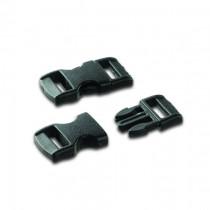 Paracord Klickschnalle 11mm schwarz