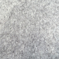 Filz-Platte 3mm meliert grau 30x45cm