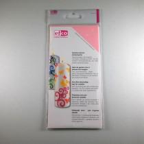 Wachsplatten rosa 200x10