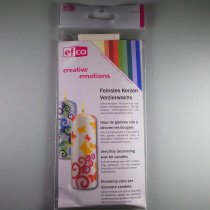 Wachsplatten Pastell-Mischung