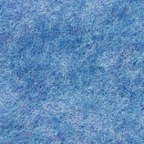 Filzplatte blaumeliert