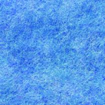 Filzplatte blau meliert