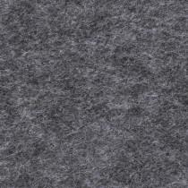 Filzplatte schwarz meliert
