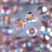 Glas Facetten Perle lila
