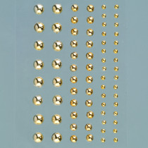 Halbperlen gold glänzend