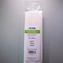 Krepp-Papier weiß Rolle 50 x 250 cm