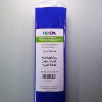 Krepp-Papier nachtblau Rolle 50 x 250 cm
