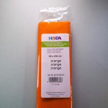 Krepp-Papier orange Rolle 50 x 250 cm