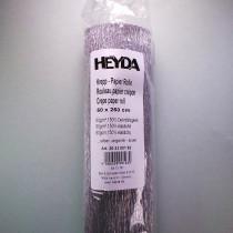 Krepp-Papier silber Rolle 50 x 250 cm