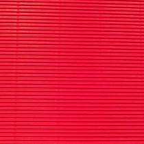 Wellpappe zum Basteln rot 50 x 70 cm 300 g/m²