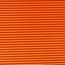 Wellpappe zum Basteln orange 50 x 70 cm 300 g/m²