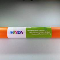 "Transparentpapier ""extra stark"" orange 50x70cm 115 g/m²"